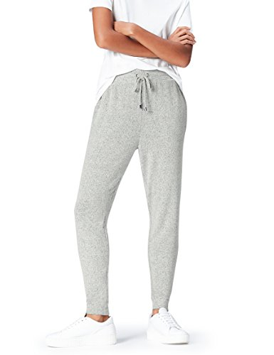 find. Joggers with Drawstring Waist and Tapered Cut Hose, Grey Marl), 38 (Herstellergröße: Medium)