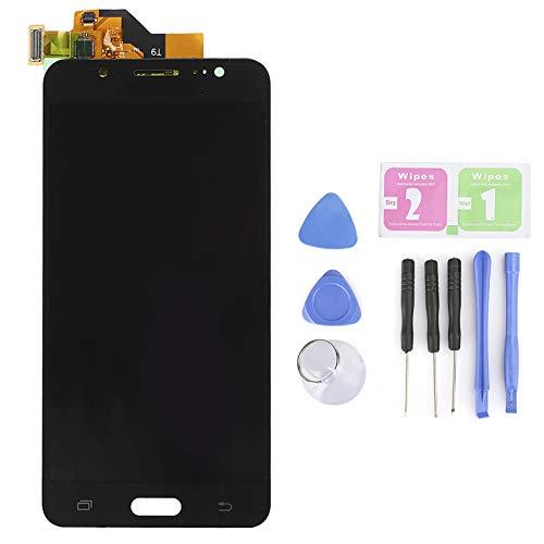 Pantalla LCD Profesional Digitalizador de Pantalla táctil sin Accesorios de Marco para Samsung J52016J510F/G/N Digitalizador de Pantalla LCD fácil de Instalar(Negro)