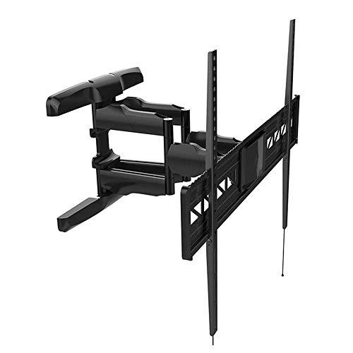 LKNJLL Montajes de pared de TV: montaje en pared de TV de movimiento completo para pantallas planas de 47-85 pulgadas y televisores curvos de hasta 88 libras, soporte de TV de montaje en pared con bra