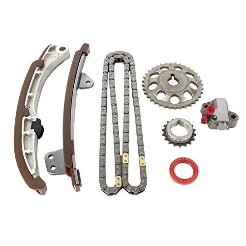 DNJ TK949 Timing Chain Kit for 2000-2015 / Scion, Toyota/Echo, Prius, Prius C, xA, xB, Yaris / 1.5L / DOHC / L4 / 16V / 1497cc, 91cid / 1NZFE, 1NZFXE