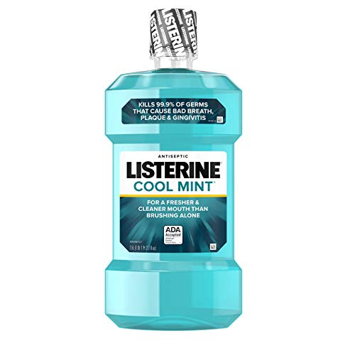 Listerine Antiseptic Mouthwash, Cool Mint, 1.5 Liters