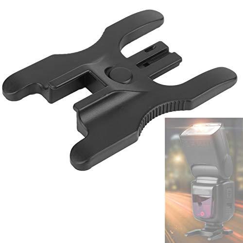 Dubbele flitsschoen Ontwerp Flitsschoen Flitsmontage Flitslampbevestiging Kwaliteit Plastic Materia, voor flitser, statief, cloudplatform, voor Canon, Nikon, PK-montage flitslicht