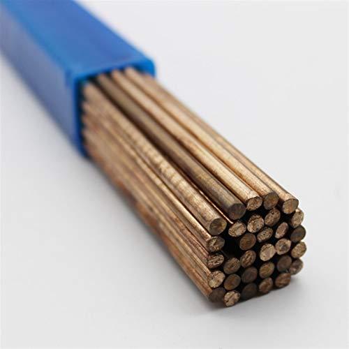 Pilang zxxin-Varillas de Soldadura duraderas, 10pcs ERCUSI-A Silicon Bronze TIG TIG Barra DE Soldadura, 1.6mm / 2mm / 2.5mm / 3mm / 4mm, (Diameter : 4mm x 250mm 10pcs)