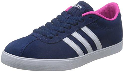 Adidas Courtset W, Zapatillas de Deporte para Mujer, Azul (Azul/(Azumis/Ftwbla/Rosimp) 000), 38 2/3 EU