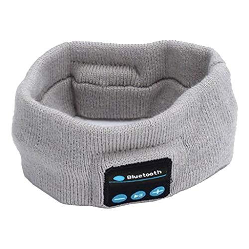 MERIGLARE Schlaf Kopfhörer, Perfekte für Schlafen, Sport, Luft Reise, Meditation und Entspannung - Licht Grau
