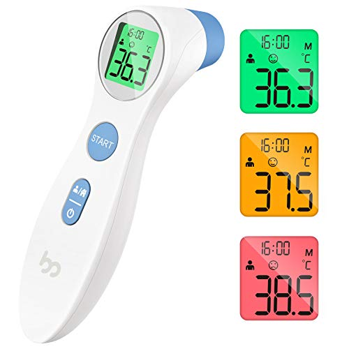 Thermometer for Adults, Forehead Thermometer for Fever, Instant Accurate...