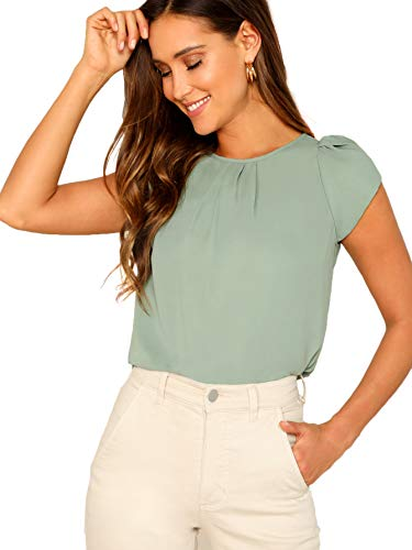 Notice: Chiffon fabric has no elasticity Notice: This shirt size runs small , select one or two sizes up maybe more suitable for you XS-US(0), S-US(2), M-US(4), L-US(6), please refer to Size Chart in Product Description as below Model: Height:175cm/5...