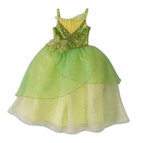 Disney Tiana Costume for Girls  The Princess and The Frog, Size 7/8 Green