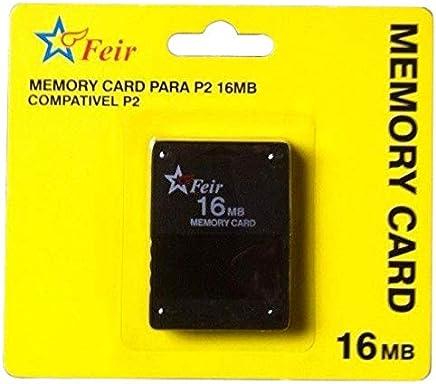 Memory Card PS2 16mb - Preto - PlaySatation 2