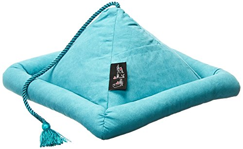 Hog Wild Peeramid Reading Pillow, Turquoise