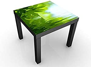 Apalis 46304–276920Table d'appoint Design Green Ambiance III, 55x 55x 45cm, Vert, 45x55