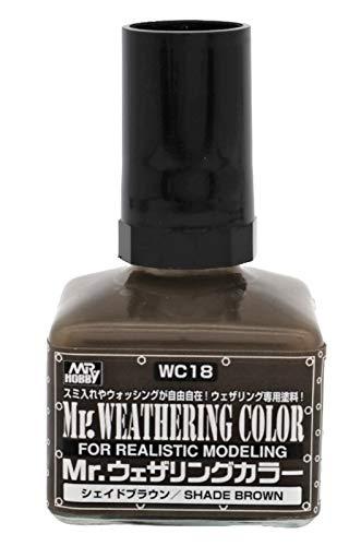 GSIクレオス Mr.ウェザリングカラ- シェイドブラウン 40ml 模型用塗料 WC18