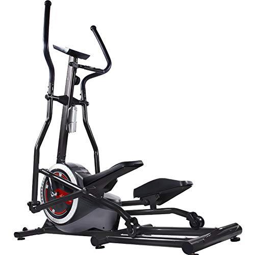 YXRPK Bici Cyclette Ellittica Stepper Trainer, Volano Silenzioso A Due Vie Anteriore, Rilevamento della Frequenza Cardiaca Manuale, Facile da Spostare con Puleggia