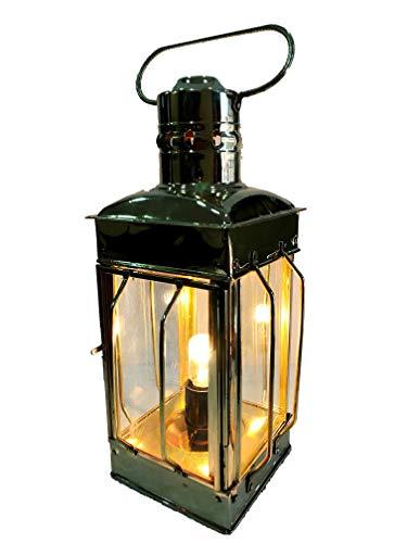 Nautisches Messing Laterne Elektrische Lampe dekorative Hängelaterne Marine Schiff Lampe