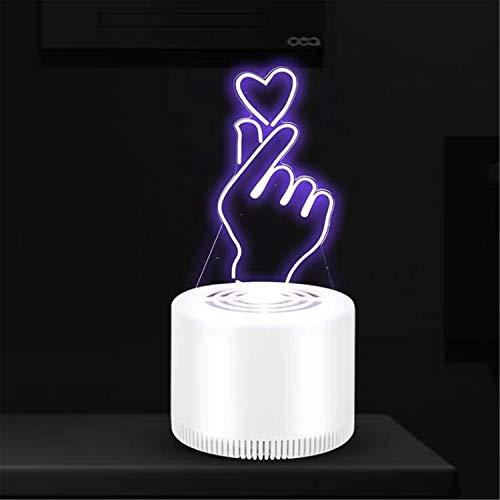 Babiis Muggenvernietiger LED muggenlamp USB efficiënt stille inhalator 3D muggennet trapper, geschikt voor baby vrouwen en zwangerschap