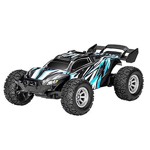 KTDT Coche de Control Remoto, 2.4G RC Racing Car Off Road Buggy 1:32 de Alta Velocidad con baterías Recargables Mini vehículos 4WD para niños Adultos
