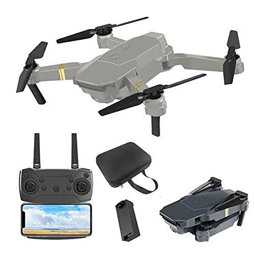 Drone 4K, quadricottero ultraleggero e pieghevole, con fotocamera 4K, foto da 12 MP, motore senza spazzole, volo in cerchio, volo a waypoint, mantenimento dell'altitudine, modalità senza testa