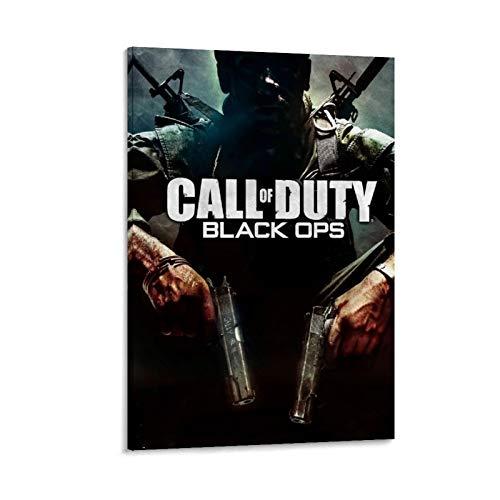 XIAOTT Póster de videojuegos de Call of Duty Black Ops 14 lienzo artístico y arte de pared, impresión moderna para dormitorio familiar, 60 x 90 cm
