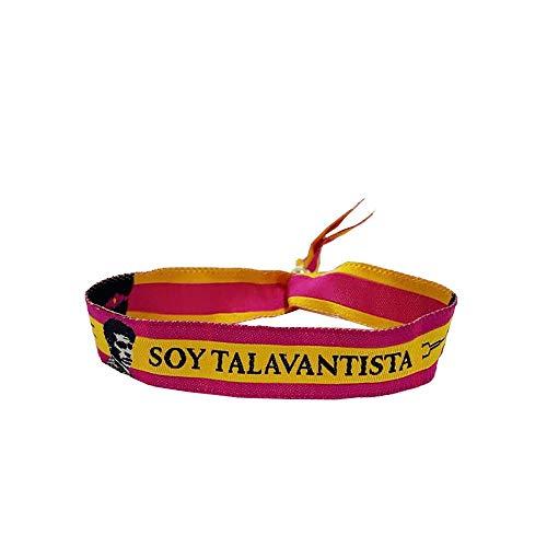 ZiNGS Pulsera Soy de .Toreros - Fucsia/amarillo, Talavante