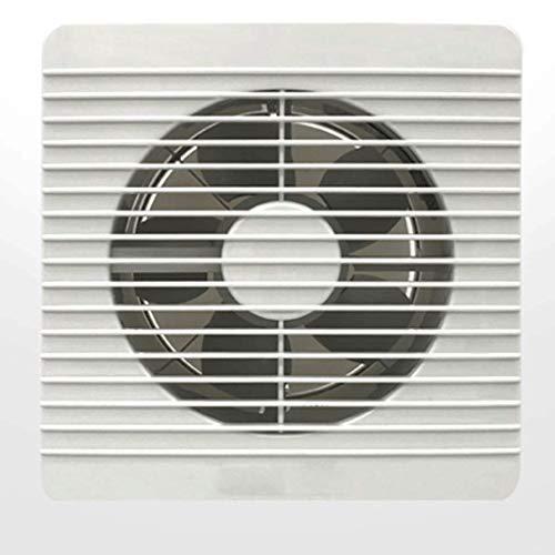 LANDUA Ventilador de conducto en línea Ventilador de Refuerzo Tubo de ventilación Impermeable de plástico Ventilador de Techo de Escape para baño