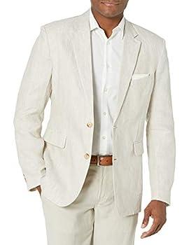 Cubavera Men s Delave Sport Coat Jacket Natural Linen X Large