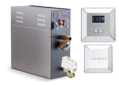 Purchase 15 KW Steam Bath Generator Steamist SMP-15 with 250 Digital Time and Temperature Control - ...