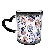 Holiday Watercolor Dots Seamless Pattern Tazze di Caffè Tazza di Ceramica Regali Personalizzati per gli Amanti della Famiglia Amici
