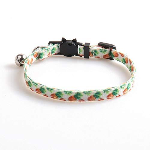 XYBB Collar de Perro Collar de Gato con Campana y Lazo Collar de Gatito Collar de Perro pequeño Cachorro Charm Gatos Productos para Mascotas A002701