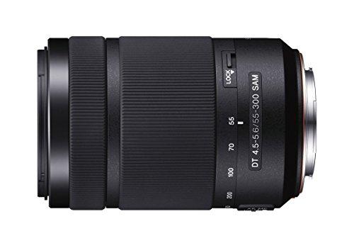 Sony SAL-55300 Tele-Zoom Objektiv (DT SAM, 55-300 mm, F4,5-5,6, APS-C, A-Mount)