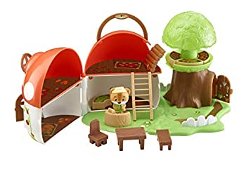 Fat Brain Toys Timber Tots Mushroom Surprise Dolls & Dollhouses for Ages 2 to 4