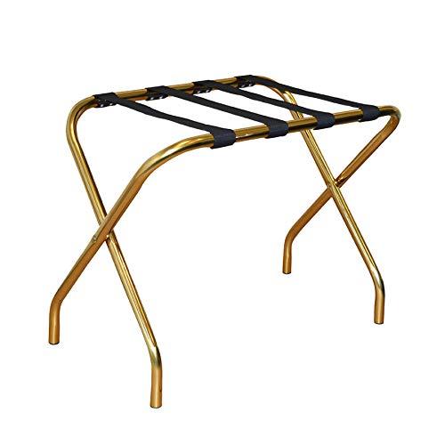 Kofferständer - zusammenklappbar - Metall - Goldfarben