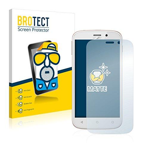 BROTECT 2X Entspiegelungs-Schutzfolie kompatibel mit Yezz Andy 5M VR Bildschirmschutz-Folie Matt, Anti-Reflex, Anti-Fingerprint