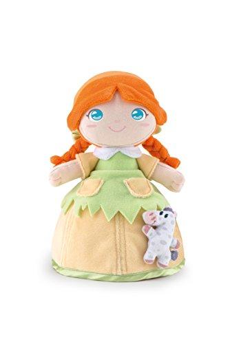 Trudi 64262 Bambola Polly Con Cavallino Puppe, 24 cm
