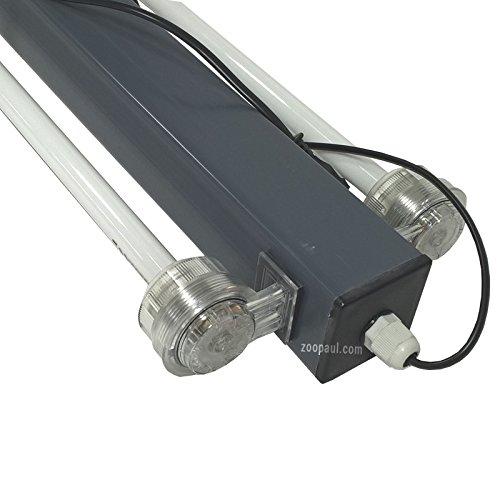 Aquariumabdeckung LED 80×35, 100×40, 120×40 Neuware Deckel Sparsam natürliches Licht Aquarienbeleuchtung Aquarium Terrarium Abdeckung (120×40) - 7