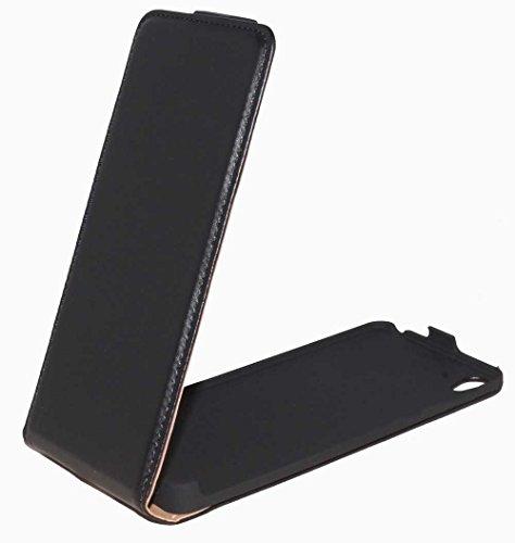 Premium Handy Hülle Tasche Flip für Sony Xperia E5 - Schutzhülle Handytasche Hülle