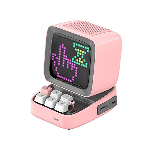 Divoom - DITOO Pink Bluetoothスピーカー【日本正規代理店品】ピンクブルートゥース ゲームも楽しめるスピーカー 4580395321844