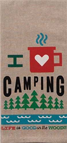 Product Image 3: 18th Street Gifts Happy Camper Dish Towels and Salt Pepper Set, 4 Piece Set of Camping Decor for RV