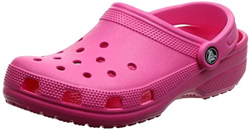 Crocs Classic Clog Unisex - Adulto Sabot, Zoccoli, Rosa (Electric Pink_6Qq), 39/40 EU
