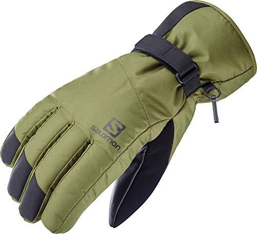 Salomon, Ski- und Snowboard-Handschuhe, Herren, FORCE DRY M, Grün (Martini Olive), Größe L, LC1427900