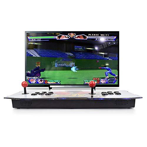 Lamptti 2260 in 1 Arcade-Videospielkonsole, 3D-Arcade-Maschine, Klassische Spiele, 2 Spieler, Pandora-Box 5S, Doppelstick, Knöpfe, Power HDMI, 1388 in 1