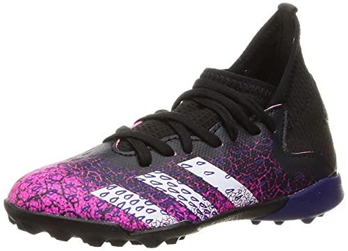 adidas Predator Freak .3 TF J, Zapatillas de fútbol, NEGBÁS/FTWBLA/ROSSHO, 35 EU