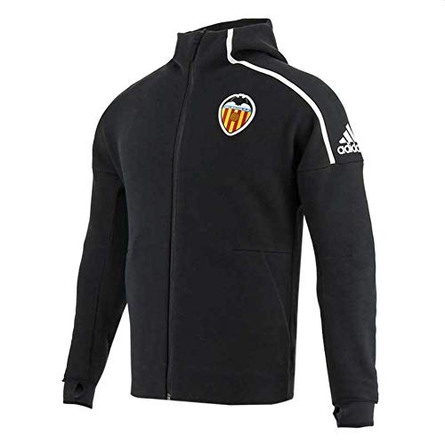 adidas Herren Vcf Anth Valencia C.F Jacke, White/Blanco, S
