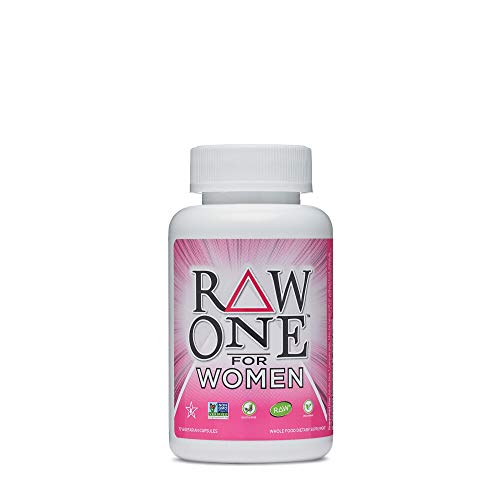 Garden of Life Vitamin Code Raw One for Women, Once Daily Multivitamin for Women - 75 Capsules, One a Day Women, Vitamins, Fruits, Veggies, Probiotics for Womens Health, Vegetarian, Gluten Free