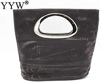 iBag's Brand Fashion Female Clutches Bag Purple Flannelette Women Handbags Blue Bucket Bag Black Hasp Crossbody Bags Casual Women Bag
