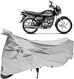 Autoridez Silver Bike Cover for Hero Splendor Plus