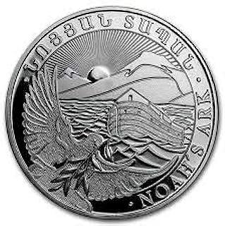 Arca de Noé 1 onza Plata Moneda moneda de plata 1 oz en monedas Cápsula