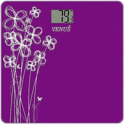 Venus EPS-2001 Electronic Digital LCD Body Fitness Weighing Machine (Purple)