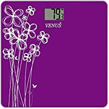 Venus EPS-2001 Electronic Digital LCD Body Fitness Weighing Machine (Purple)