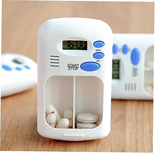 2 Rejillas Despertador Digital Eléctrico Portátil De Uso En Hogar LCD Caja...