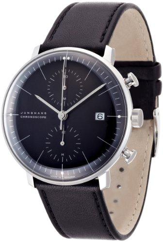 [ユンハンス] 腕時計 027 4601 00 メンズ 正規輸入品 ブラック